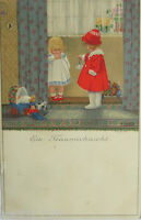 """""""Kinder, Spielzeug, Puppen, Teddy""""1914, Pauli Ebner, M.M Vienne Munk 378♥(12586)"""