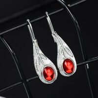 Women Lady Fashion New Dangle Drop Jewelry Hook Leaf Earrings Jewelry New S