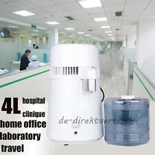 Kitchen Office Stainless Steel Inner Tank PureWater Distiller Purifier Filter 4L