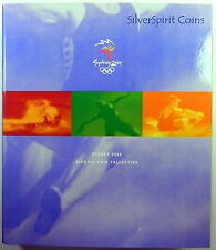2000 $5 SYDNEY OLYMPIC COIN SET ALBUM with Subscibers Medallion