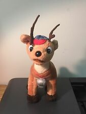 "1999 CVS Stuffins Rudolph The Red Nose Reindeer Comet Coach Plush 7"" MISFITS"