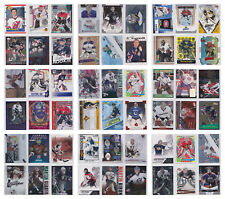 Goalie Insert SP Serial Numbered Parallel RC Rookie Cards - You Pick- NHL Hockey