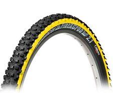 "Panaracer Fire XC Pro Tubeless Ready MTB Bicycle Bike Tyre 26"" x 2.1 Yellow"