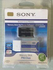 PSP 2GO Sony Memory Stick Pro_Duo+Adaptator SONY PSP Compatible Neuf/Blister 1$