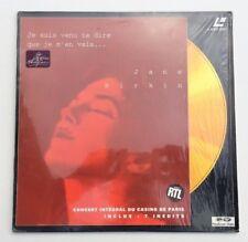 LASERDISC / JANE BIRKIN - CASINO DE PARIS (CONCERT-MUSIQUE) LD CD VIDEO PAL TV