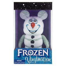 "Disney Parks Frozen Olaf Snowman 9"" inch Vinylmation Figure"