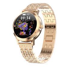 Luxo, Relógio Inteligente Mulheres Batimento Cardíaco Pressão Arterial Fitness Tracker Lady Pulseira