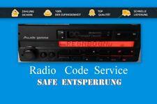 AUDI VW GAMMA CC Gamma IV 4 Gamma 5 Safe Entsperrung - Radio Kode - KEY CODE !