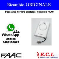 TELECOMANDO TRASMETTITORE RADIOCOMANDO ORIGINALE FAAC XT2 433 SLH LR 787007