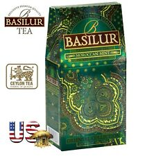 Basilur Oriental Collection Ceylon green tea Moroccan Mint 100g loose Tea