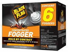 Insect Spray Fogger Bug Killer Roach Ant Spider Indoor Home Pest Control 6 Pack