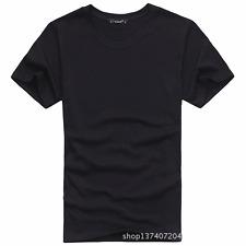 Nova Masculina Nova t-shirt manga curta Tagless S-3XL