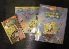 3 SpongeBob Squarepants Essential Guide ,Tokyopop Cine-manga Lot Nickelodeon