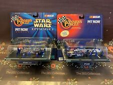 Winners Circle Jeff Gordon #24 Pit Row Series Pepsi 1998 Star Wars 1999 Lot of 2