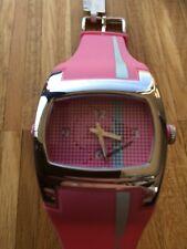 Dunlop Rosa/Pink  Damenarmbanduhr  Batterie