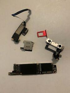 Apple iphone XR 128gb Red unlocked Logic board READ ic locked parts A1984