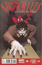 Morbius the Living Vampire #6 Marvel Now Superior Spider-Man Rose Manhattan VF