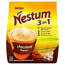 DELICIOUS NESTLE NESTUM 3 IN 1 CHOCOLATE FLAVOUR 15 X 28G
