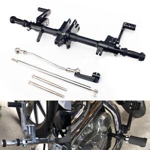"""Black 12"""" Forward Controls for Harley Sportster 883 1200 Custom XLH XL 87-03 02"""