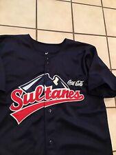 Rare VTG Sultanes De Monterrey Coca Cola Tecate Sewn Mexico Baseball Jersey 42