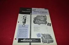 P&H Model 487C-18 2-Cycle Diesel Engine For Automotive Dealer's Brochure LCPA3