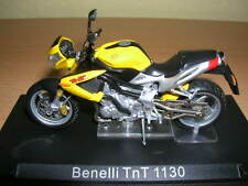 Ixo Altaya Benelli TnT 1130 / TnT1130 gelb yellow 1:24 Motorrad