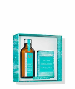 Cleanse and Style Duo Self Care Kit - Light - Moroccanoil