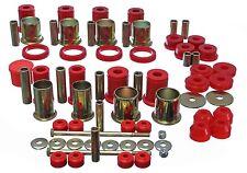 82-92 Camaro Firebird Trans Am Performance Master Suspension Bushing Kit RED