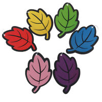 1PC Auto Shine Paper Hanging Car Air Freshener Vanilla Perfumed Leaf ShapeBLCA