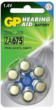 1.4V Hearing Aid Batteries Zinc Air ZA675 6 Pack