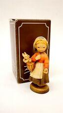 Club Anri Ferrandiz 655-001 Welcome Hand Painted & Carved Wood Figure w Orig Box