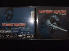 CD LIGHTNIN' HOPKINS / LIVE AT NEWPORT /