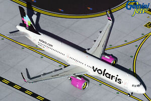 Volaris Airbus A321neo N537VL Gemini Jets GJVOI1887 Scale 1:400 IN STOCK