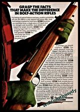 1981 Smith & Wesson S&W Model 1500 Bolt Action Rifle Firearms Photo Ad