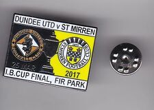 Dundee United v St Mirren ( Challenge Cup Final 2017 ) - butterfly fitting