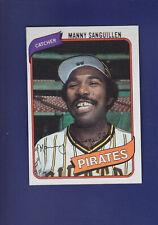 Manny Sanguillen 1980 TOPPS Baseball #148 (NM) Pittsburgh Pirates