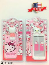 USA Seller !!! 3D Hello Kitty TPU Phone Case for iPhone 6 / 6s - Pink