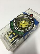 Vintage Swatch Scuba Access SHB101 Goodwill Games NEW YORK 98 Special NEU 1998