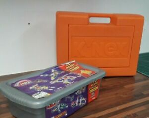 K Nex mixed bundle in carry case plus box with wheels