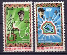 SENEGAL 444-445 MnH Cv € 6.00 Todestage Charles de Gaulle 1070