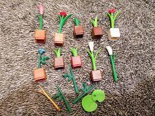 Playmobil Accessoires - décoration fleur savane safari école maison