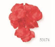 Confezione 288 petali tessuto Rosso per decorazioni feste art 53174