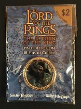 LORD OF THE RINGS - NAZGUL ON FELL BEAST- TELEGRAPH - SEALED - PIN - BADGE -