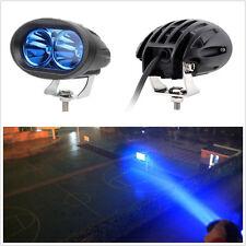 1xBlue CREE LED 20W High Power Motorcycle Driving Fog Light Spot Lamp