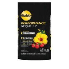 Miracle-Gro Performance Organics 6-Quart Organic Potting Soil Mix