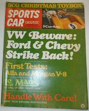 Sports Car Magazine VW Ford & Chevy Le Mans December 1968 030315r