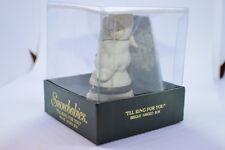 """Retired Dept.56 Snowbabies Hinged Box """"I'll Ring for You"""" #68928 Trinket Box NIB"""