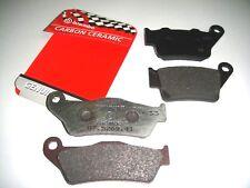 0235 PASTIGLIE FRENO BREMBO ANTERIORI + POSTERIORI KTM EXC 525 2003