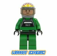 LEGO Minifigure Star Wars - Rebel Pilot A-Wing - sw031a minifig FREE POST