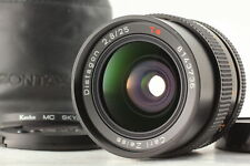 [MINT]  Contax Carl Zeiss T* Distagon 25mm F2.8 MMJ MF Wide  Lens From Japan
